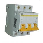 Автоматический выключатель трехполюсной 32А
