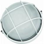 Светильник влагозащищенный 60Вт круглый с решеткой