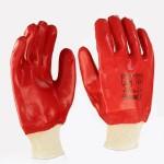 Перчатки масло-бензостойкие красные/синие