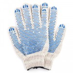 Перчатки х/б Протектор белые