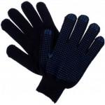 Перчатки х/б Протектор черные