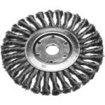 Щетка дисковая для УШМ 175*22мм крученая Ермак