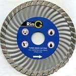 Диск алмазный RinG 125мм турбо универсальный