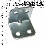 Уголок мебельный гнутый УМ-40-НБ цинк