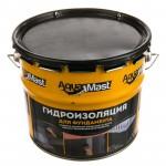 Мастика  битумная AquaMast (10кг) для фундамента