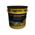 Мастика  резино-битумная AquaMast (10кг) для кровли