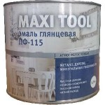 Белая ПФ-115 эмаль Maxi Tool (1.9кг)