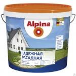 Белая  ВД-АК Alpina  (12л) надежная фасадная