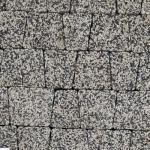 Тротуарная плитка Антик StoneMix Черный с белым