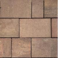 Тротуарная плитка Старый город ColorMix Золотая осень