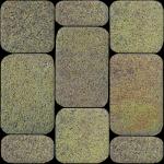 Тротуарная плитка Классико 40 мм, янтарь гранит