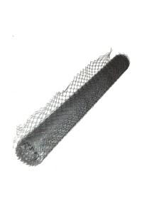 Сетка ПВС 1м (ячейка 40*40мм) цинк (10м)