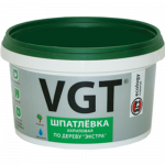 Шпатлевка акриловая VGT Экстра по дереву (1кг)