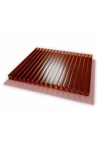 Поликарбонат Novoglass 6мм коричневый