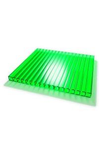 Поликарбонат Novoglass 8мм зеленый