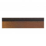 Черепица коньково-карнизная Shinglas Микс коричневый