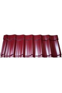 Металлочерепица Супермонтеррей красное вино