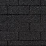 Гибкая черепица Roofshield Американ, графитно-черный
