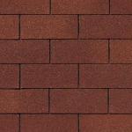 Гибкая черепица Roofshield Американ, коричневый
