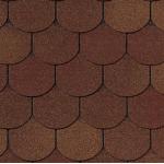Гибкая черепица Roofshield Готик, осенний (2,7 мм)