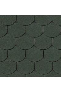Гибкая черепица Roofshield Готик, зеленый