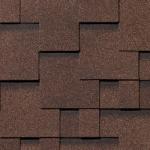 Гибкая черепица Roofshield Модерн, коричневый топаз (3 мм)