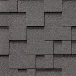 Гибкая черепица Roofshield Модерн, серый с оттенением (3,5 мм)