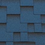 Гибкая черепица Roofshield Модерн, синий