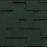 Гибкая черепица Roofshield Модерн, зеленый с оттенением