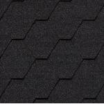 Гибкая черепица Roofshield Стандарт, графитно-черный