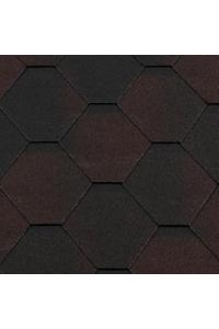Гибкая черепица Roofshield Стандарт, коричневый антик