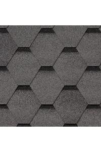 Гибкая черепица Roofshield Стандарт, серый с оттенением (2,7 мм)