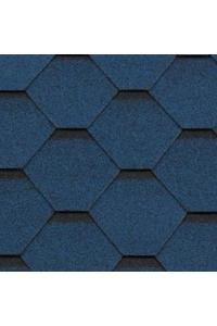 Гибкая черепица Roofshield Стандарт, синий