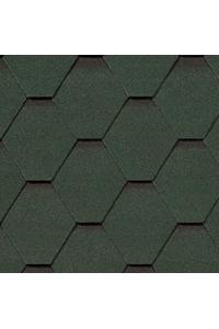 Гибкая черепица Roofshield Стандарт, зеленый