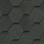 Гибкая черепица Roofshield Стандарт, зеленый антик