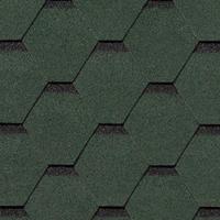 Гибкая черепица Roofshield Стандарт, зеленый с оттенением (2,7 мм)