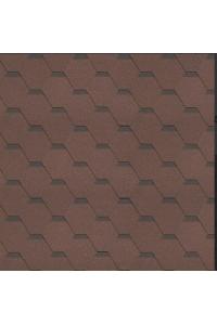 Гибкая черепица Технониколь shinglas классик кадриль, агат