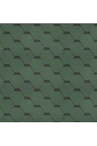 Гибкая черепица Технониколь shinglas классик кадриль, нефрит