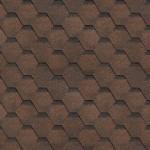 Гибкая черепица Технониколь shinglas финская соната, коричневый