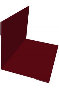 Планка угла внутреннего 50*50*2000мм красное вино
