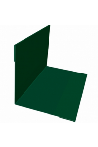 Планка угла внутреннего 50*50*2000мм зеленая