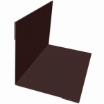 Планка угла внутреннего 50*50*2000мм коричневая