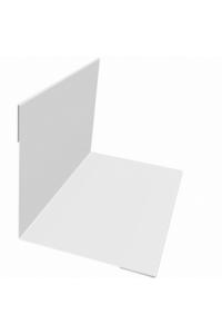 Планка угла внутреннего 50*50*2000мм белая