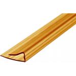 Профиль торцевой 10мм, бронза (2.1м)