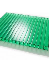 Поликарбонат Novoglass 6мм, зеленый (6м)