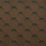 Гибкая черепица Tilercat Прима коричневая