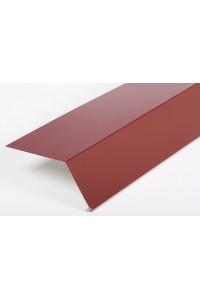 Планка карнизная 100*69*2000мм коричневая