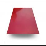 Лист плоский 1250*2000мм красное вино