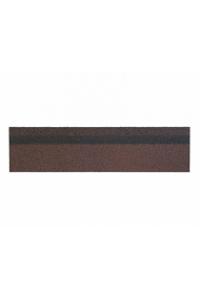 Черепица коньково-карнизная Katepal Ambient коричневая