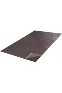 Лист плоский 1250*2000мм коричневый